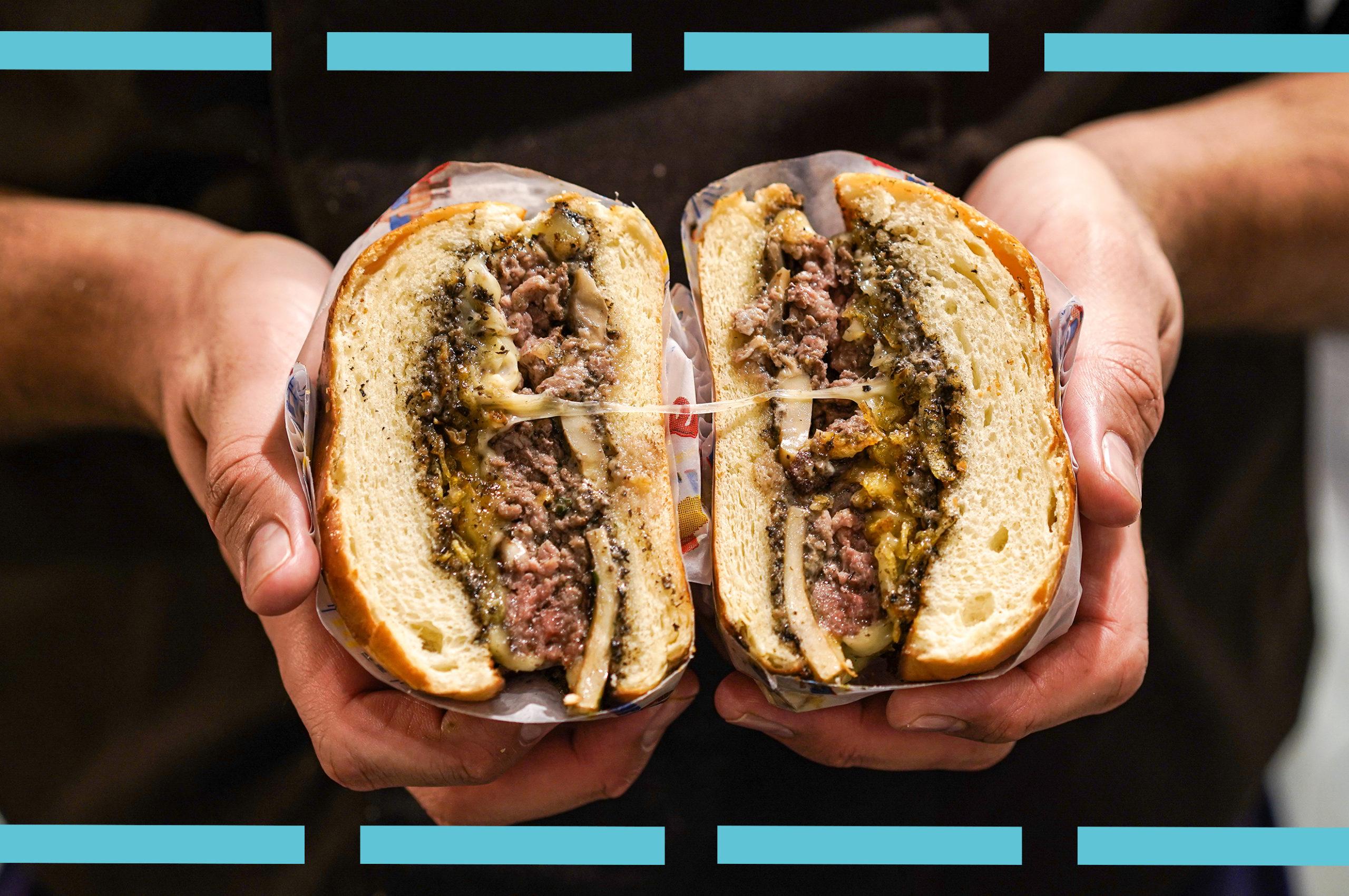 burger du restaurant LIberty's disponible en livraison